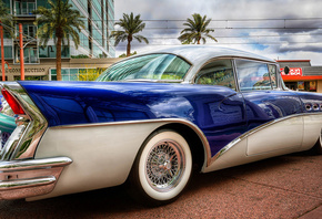 retro, buick, buick, car, 58 special, street