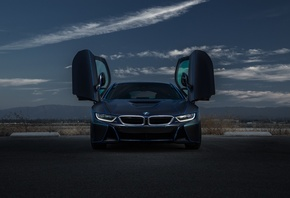 BMW, i8, Aristo, Collection, SS, Customs, Спереди