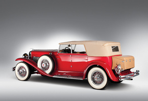 1930, Duesenberg, Model J-208-2228, Convertible Sedan by Murphy, Кабриолет, ...