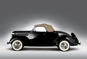 1936, Ford, V8, Deluxe, Roadster, Форд