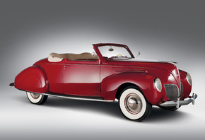 1938, Lincoln, Zephyr, Convertible, Coupe