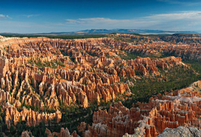Парк, Пейзаж, Utah, Bryce, Point, Bryce Canyon, National Park, Каньон, Природа