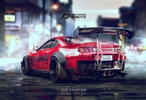 Toyota Supra, JZ 2JZ, Speedhunters, Need for speed, Spoiler, Drift, YASID,  ...