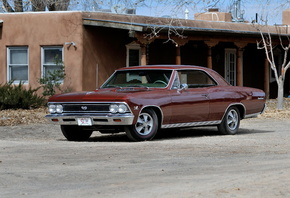 Chevrolet, 1966, Chevelle, SS, 396, Hardtop, Coupe