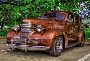 Chevrolet, Ретро, CIRCA, 1930, CHEVY, oldtimer, HDR