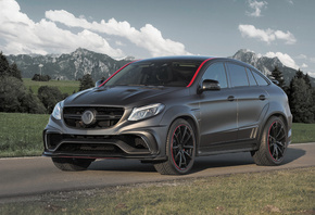 Mercedes-Benz, Coupe, Mansory, C292, GLE-Class, Серый