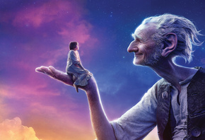 The, Beautiful, White, 2016, Amblin Entertainment, Old man, Hair, Young, Giant, Sunshine, Walt Disney Pictures, Sophie, DreamWorks, SKG, BFG, Mark Rylance, The Big Friendly Giant, Ruby Barnhill, The BFG, Stars, Entertainment One, Girl, Clouds, Sky, Wonder