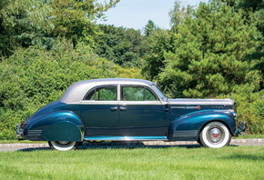 Ретро, 1941, Packard, 180, Custom, Super, Eight, Sport, Brougham by LeBaron ...