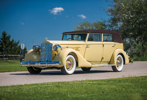 Ретро, 1935, Packard, Eight, Convertible, Sedan, RHD