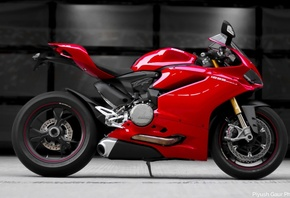 Ducati, Panigale, 1299S, red, мотоцикл