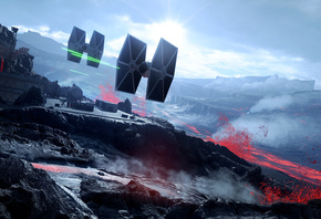 Звёздные войны, Star Wars, tie fighter, Battlefront