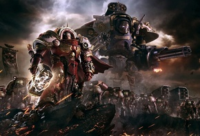 Warhammer, Dawn of War, игры