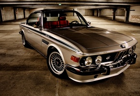 Old, BMW, 3, Series, Coupe