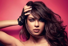 Priyanka Chopra, face, girl, eyes, brunette, девушка, actress, smile, pretty, hair, sexy, актриса, celebrity, bollywood, pose, beauty, cute, индийский, model, indian, красавица, lips, beautiful
