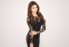 Urvashi Rautela, face, girl, eyes, brunette, девушка, actress, smile, prett ...
