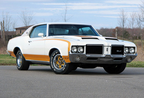 hurst, pace car, 1972, coupe, cutlass, oldsmobile, indy 500, the oldsmobile, hardtop