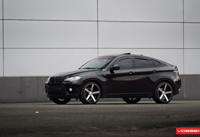vossen, black, bmw x six, jeep, drives, bmw x6, tuning
