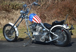 Bike, chopper, custom, мотоцикл