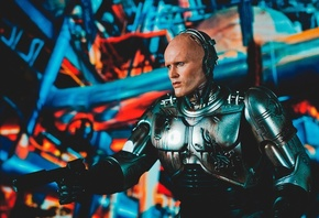 RoboCop, Peter Weller, киборг, фильмы