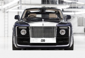 Rolls-Royce Sweptail, 2017, Front view, most expensive car, English cars, R ...