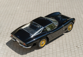 Bizzarrini, 1966-67, 5300, GT, Черный
