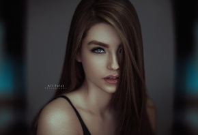 women, face, portrait, Ali Falak