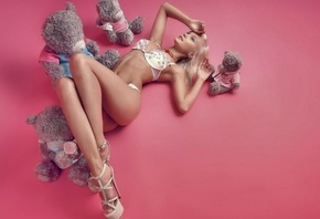 Blond, legs, perfect, beautigull, high, heels, rosa