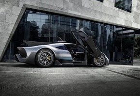 Мерседес-Бенц, гибридный, гиперкар, 2017, Mercedes-Benz, Mercedes, AMG, Project One