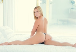 Ass, Model, Pretty, Buttocks, Naked, Juicy, Girl, Beauty, Slim, Posing, Cutie, Figure, Erotic, Face, Beautiful, Kelsi Monroe