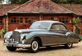 bentley, R, type, Coupe, 1954
