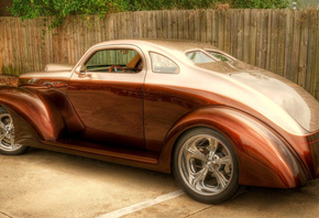 drives, coupe, chrome, ford, body, bronze