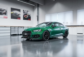 Audi, RS 5, R, Coupe, 2018, зелёный