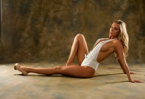 pose, look, Samantha Saint, chest, legs, Girl, body