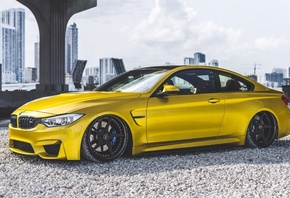 BMW, M4, ADV, 1ADV1, Wheels, Austin, Yellow