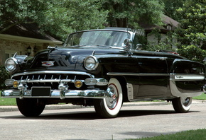 chevrolet, bel air, convertible, 1954