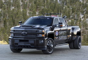 Chevrolet, Silverado, 3500HD, Safety, Safari