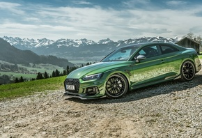 Audi, RS5, Coupe, 2018, RS5-R, ABT, green