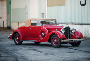 Retro, 1934, Packard, Eight, Coupe, Roadster
