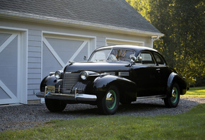 Cadillac, Retro, 1940, Sixty-Two, Coupe