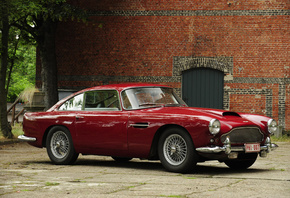 Retro, Aston Martin, 1960-61, DB4
