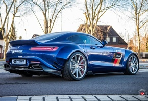 Prior Design, Mercedes, AMG, GT S, Gets, Vossen, Wheels
