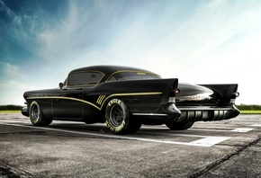 Buick, Roadmaster, tuning, retro