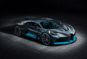 Bugatti, Divo, rear view, new, hypercar