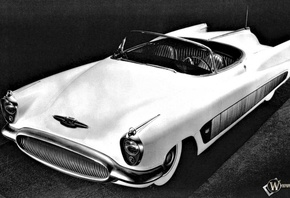 buick, XP300, 1951, retro