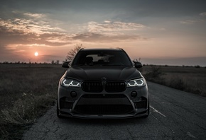 BMW, X5M Z, Performance, Черный