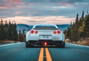 Nissan, GT-R, road, tuning, supercars, R35
