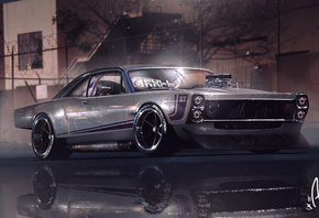 Muscle Car, Graphical Art