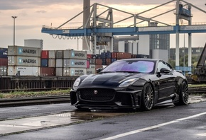 Jaguar, F-Type, SVR, Arden, AJ 23, sports coupe, tuning, British, sports ca ...
