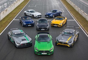 Mercedes, Amg, Gt, Cars