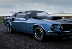 ford, mustang, boss, 429, 1970